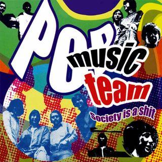 Pop music team portada