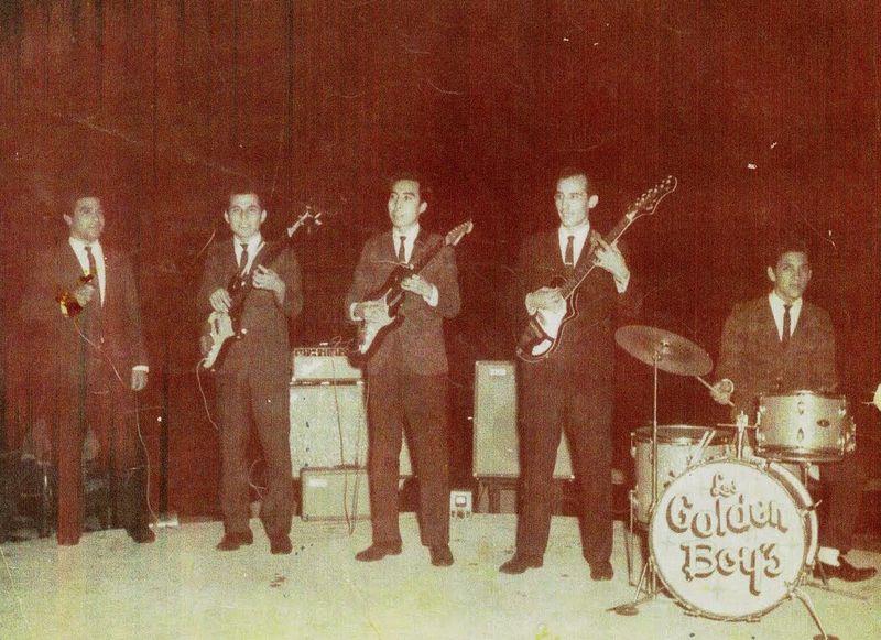 Los Golden Boys con Andres Rocha