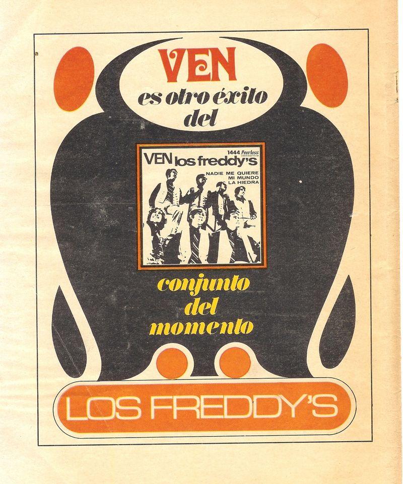 LOS FREDDYS FLYER