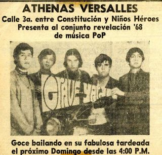 Los graveyards - flyer 1968