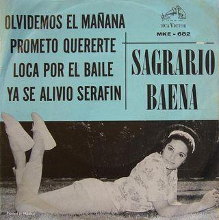 EP Sagrario Baena RCA-Victor MKE-682