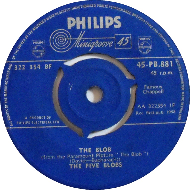 Five blobs - the blob sencillo philips