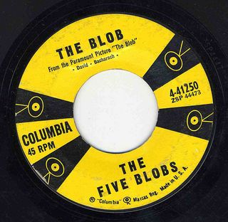 The Five Blobs - The Blob Columbia