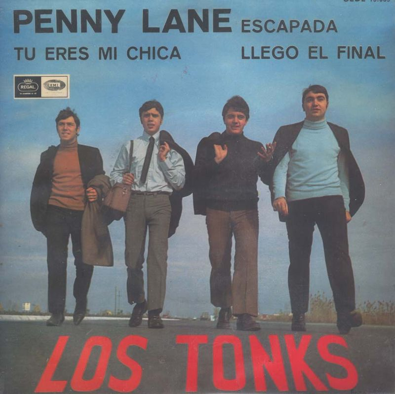 Los Tonks (Portada EP-1)