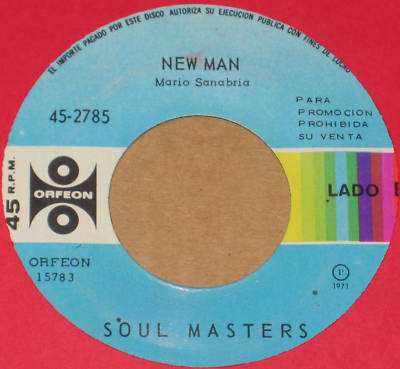 Sencillo soul masters new man