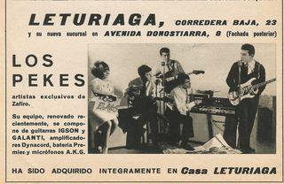 Los Pekes - Leturiaga