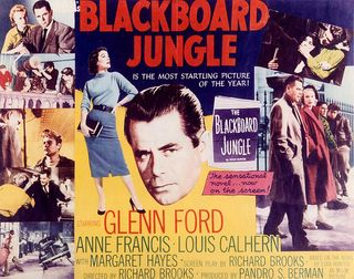 Affiche Blackboard Jungle