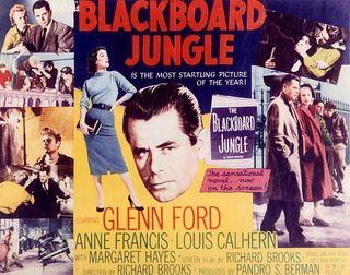 Affiche Blackboard Jungle