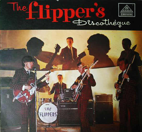 The Flippers - Discotheque (LP 1966) - Front
