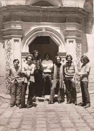 La maquina del sonido fines 1970