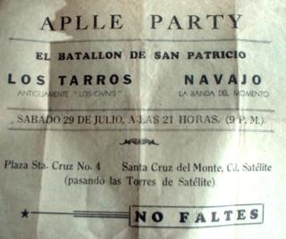 Flyer Los Tarros