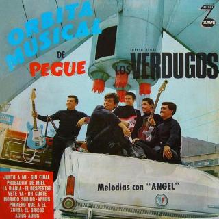 LOS VERDUGOS - Mexico 1966 ZaveLP-Z-11